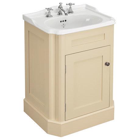 Silverdale Balasani 600mm Wide Vanity Cabinet - Latte Stone