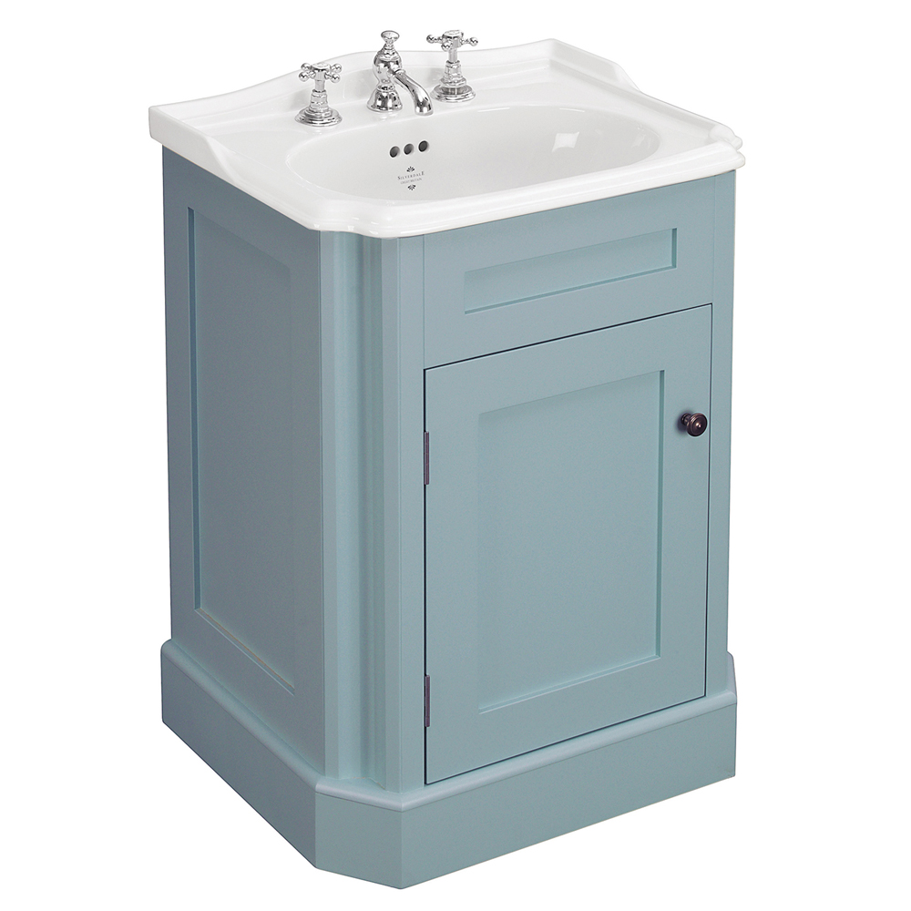 Silverdale Balasani 600mm Wide Vanity Cabinet - Moonlight Blue Large Image