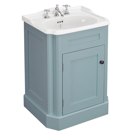 Silverdale Balasani 600mm Wide Vanity Cabinet - Moonlight Blue