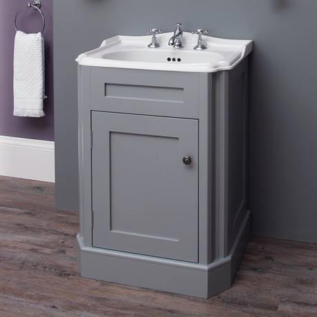 Silverdale Balasani 600mm Wide Vanity Cabinet Palomba Grey Online
