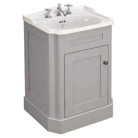 Silverdale Balasani 600mm Wide Vanity Cabinet - Palomba Grey