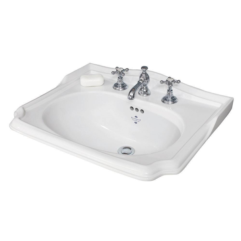 Silverdale Balasani 600mm Wide Vanity Cabinet - Plum Grey profile large image view 2