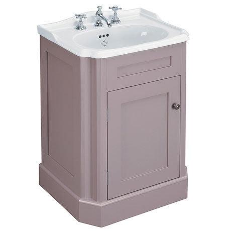 Silverdale Balasani 600mm Wide Vanity Cabinet - Plum Grey