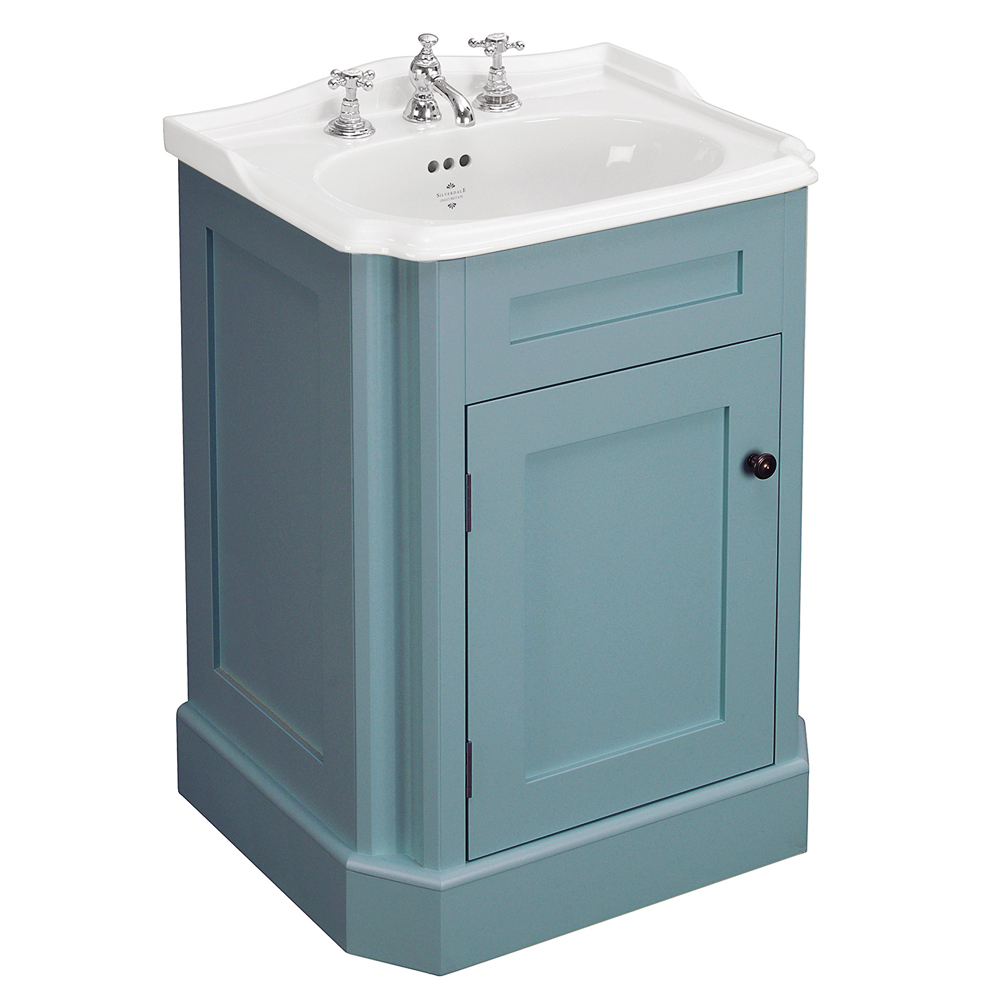 Silverdale Balasani 600mm Wide Vanity Cabinet - Timid Teal Large Image