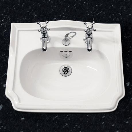 Silverdale Balasani Traditional Inset Basin - 520mm Wide
