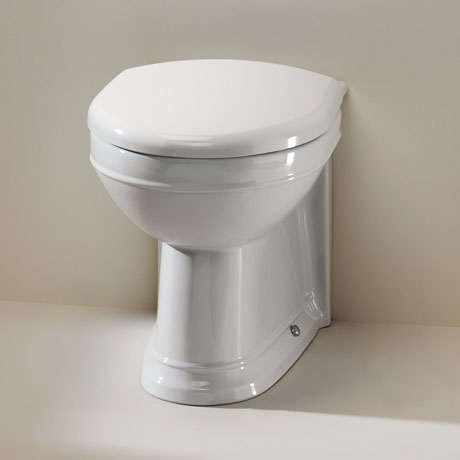 Silverdale Damea Back To Wall BTW Toilet inc Soft Close Seat