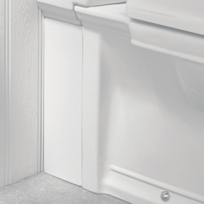 Silverdale Damea Close Coupled Toilet inc Soft Close Seat profile large image view 2