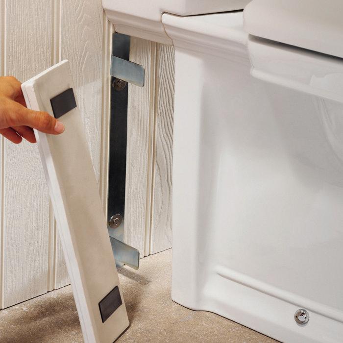 Silverdale Damea Close Coupled Toilet inc Soft Close Seat Standard Large Image