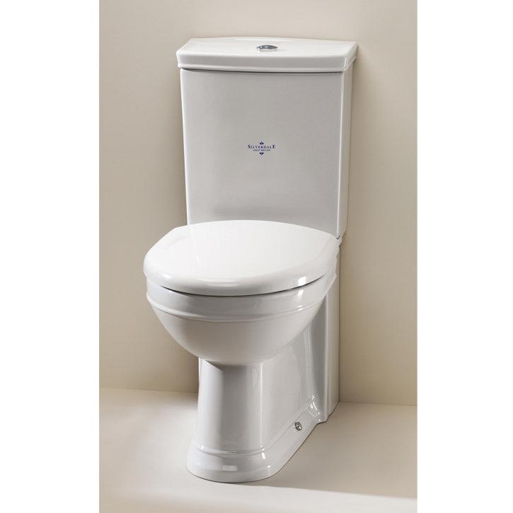Silverdale Damea Close Coupled Toilet inc Soft Close Seat profile large image view 1