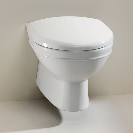 Silverdale Damea Wall Mounted Toilet inc Soft Close Seat