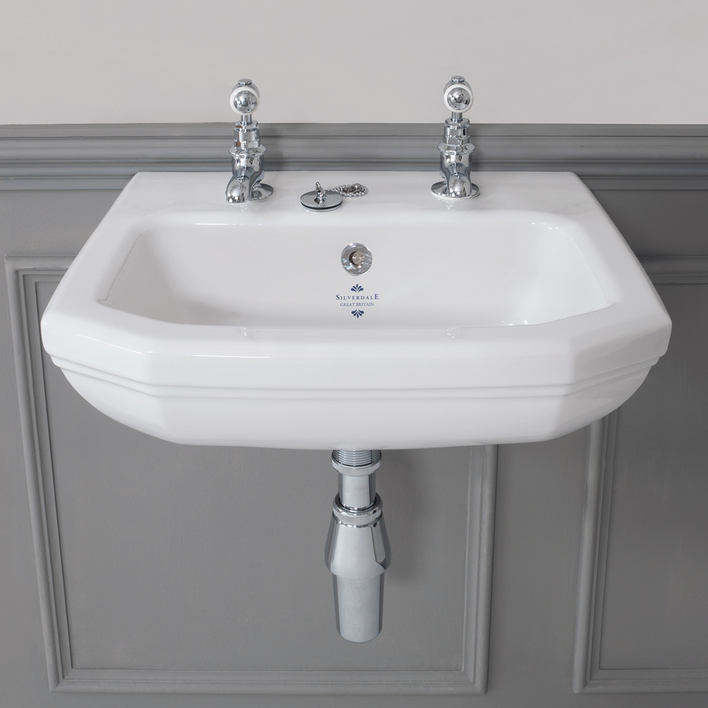 art deco bathroom sinks silverdale empire deco cloakroom basin 15438
