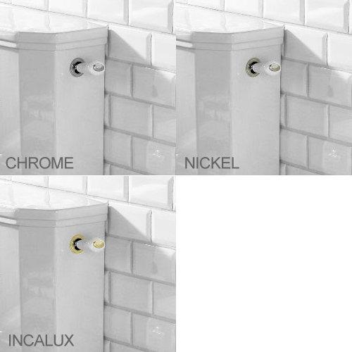 Silverdale Empire Art Deco Low Level Toilet - Excludes Seat profile large image view 2
