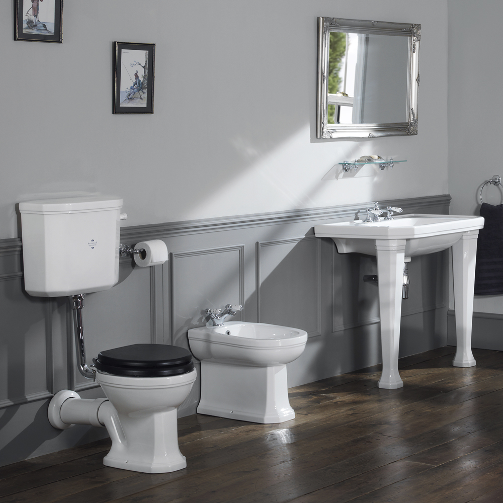 Silverdale empire art deco low level toilet victorian - Deco toilet ontwerp ...