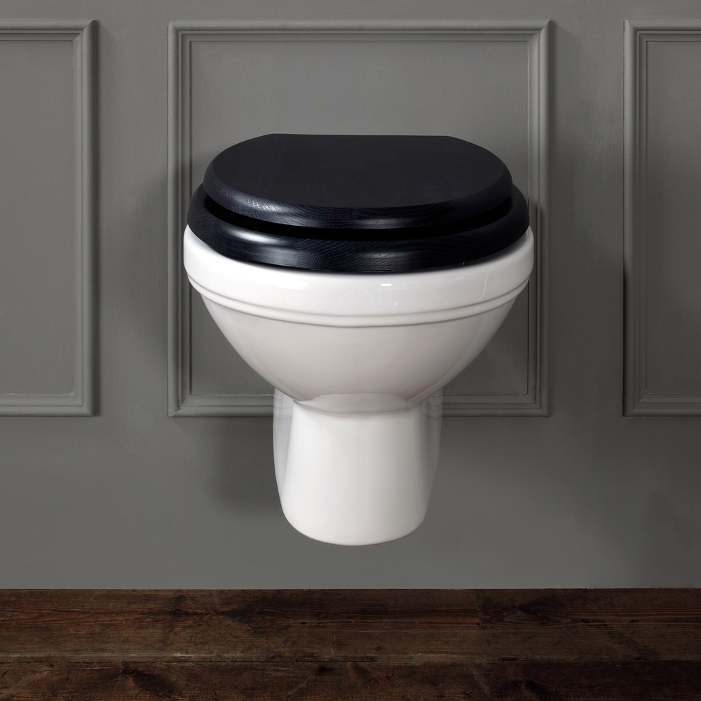 Silverdale Empire Wall Mounted Pan - Excludes Seat Large Image