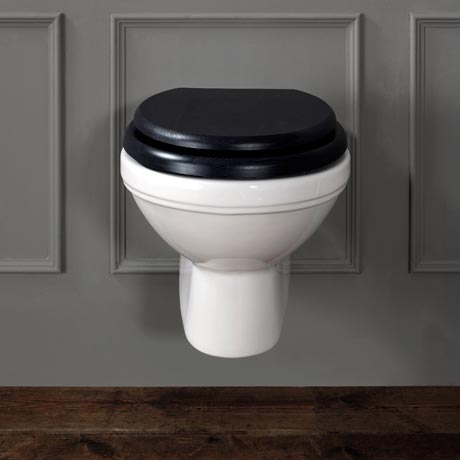 Silverdale Empire Wall Mounted Pan - Excludes Seat