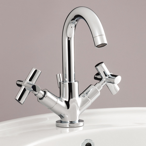 Silverdale Highgrove Mono Basin Mixer with Pop Up Waste Chrome Large Image