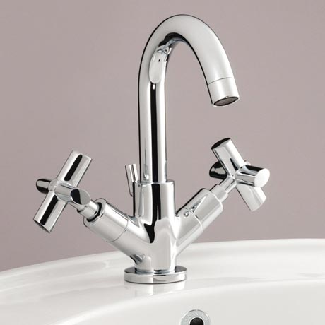 Silverdale Highgrove Mono Basin Mixer with Pop Up Waste Chrome