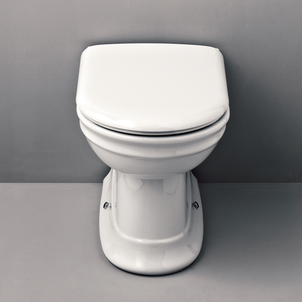 Silverdale Hillingdon Back To Wall BTW Toilet inc Soft Close Seat Large Image