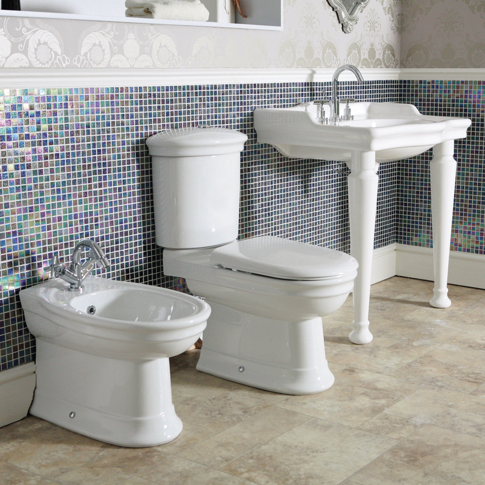 Silverdale Hillingdon Close Coupled Toilet inc Soft Close Seat Profile Large Image