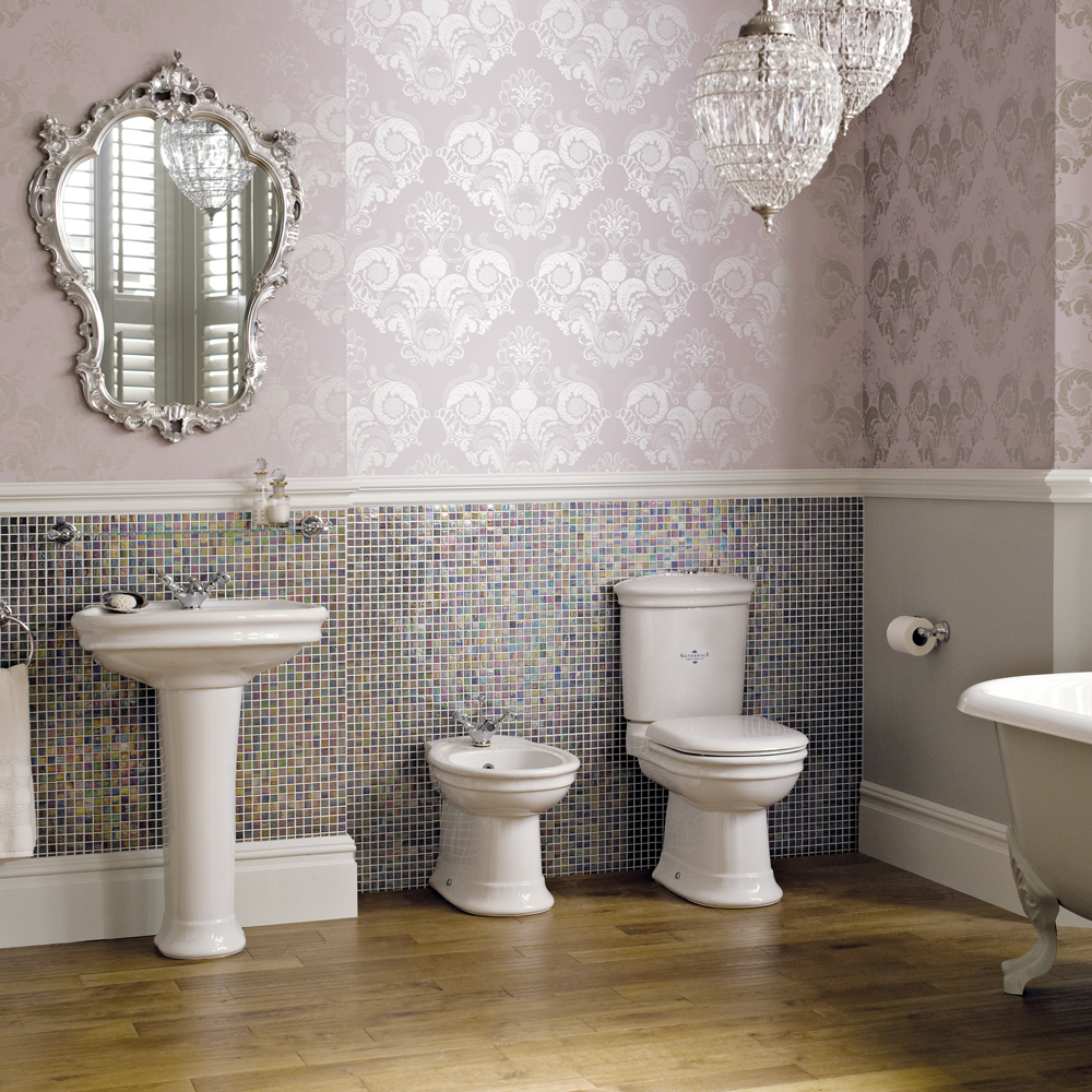 Silverdale Hillingdon Close Coupled Toilet inc Soft Close Seat Feature Large Image
