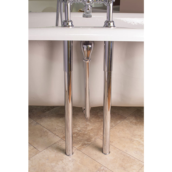 Silverdale Telescopic Shrouds for Free Standing Baths - Various Colours profile large image view 2