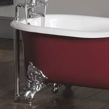 Silverdale Telescopic Shrouds for Free Standing Baths - Various Colours Medium Image