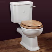 Silverdale Victorian Close Coupled Toilet - Excludes Seat Medium Image