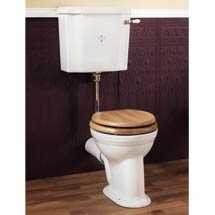 Silverdale Victorian Low Level Toilet - Excludes Seat Medium Image