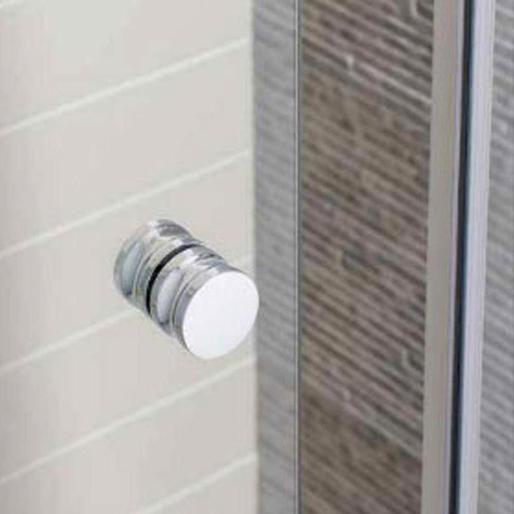 Simpsons Edge Offset Quadrant Single Door Shower Enclosure - 3 Size Options  Profile Large Image