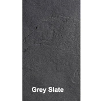 Simpsons - Grey Textured Slate Effect Shower Tray with Waste profile large image view 2
