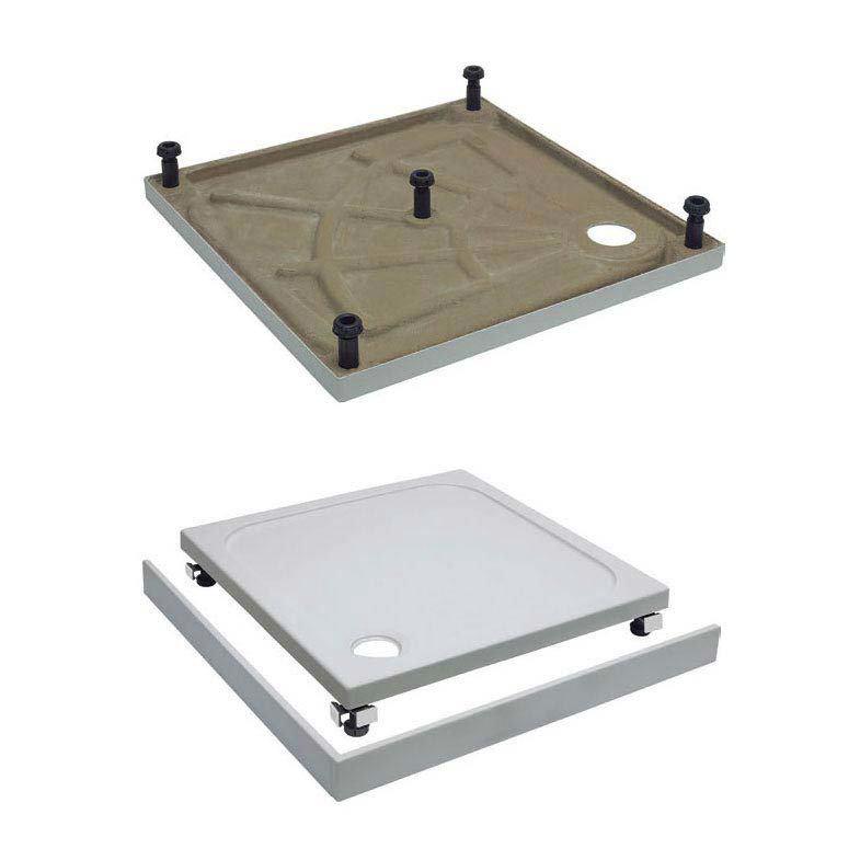 Simpsons 1500 x 800mm Leg & Panel Riser Kit for 25mm Rectangular Shower Tray - STBR8X15 Large Image