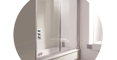 Shower Screens For Baths sliding bath screen | bath shower screens | victorian plumbing