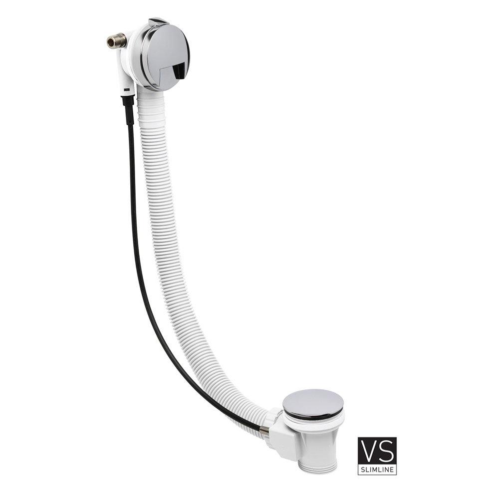 Crosswater Digital Evoque Elite Bath Filler Waste & Pull Out Hand Shower Newest Large Image