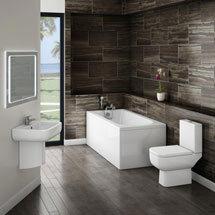 Small Modern Bathroom Suite Medium Image