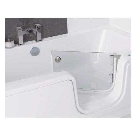Smarter bathing darwell walk in bath complete with front for Chatsworth bathroom faucet parts
