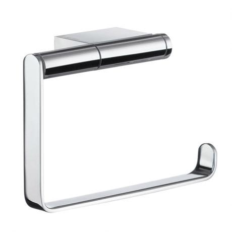 Smedbo Air Toilet Roll Holder - Polished Chrome - AK341