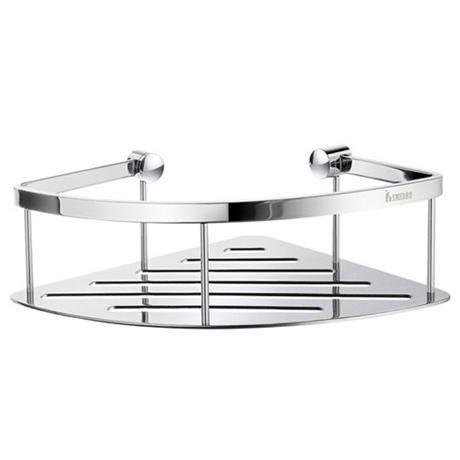 Smedbo Sideline Corner Soap Basket - 200 x 200mm - Polished Chrome - DK3031