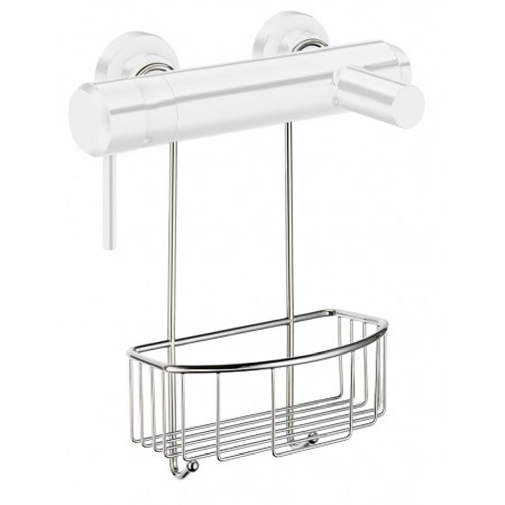 Smedbo Sideline Shower Basket for Exposed Valves - Chrome - DK1048 Large Image