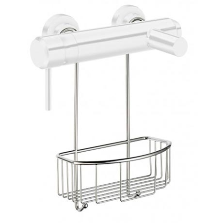 Smedbo Sideline Shower Basket for Exposed Valves - Chrome - DK1048