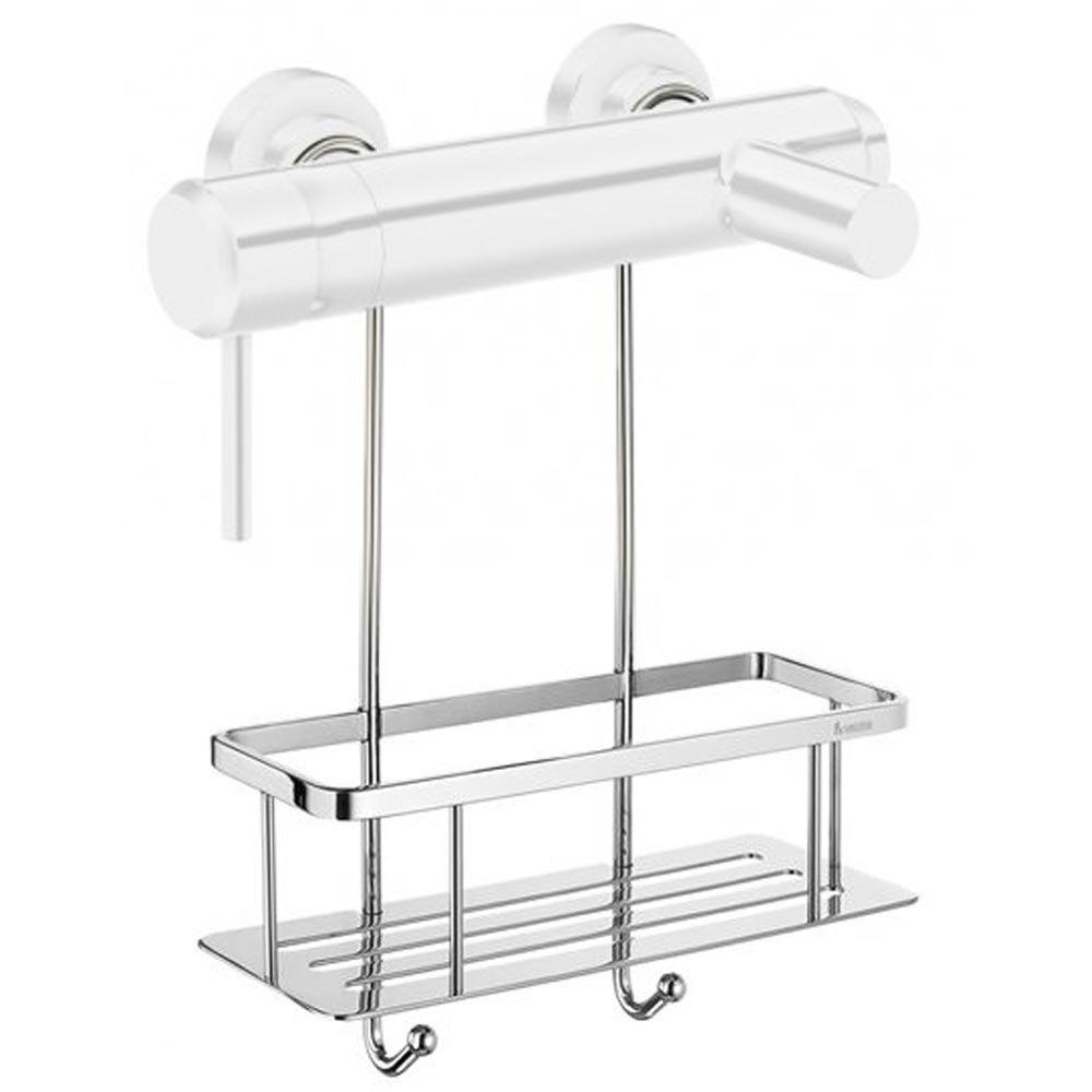 Smedbo Studio Shower Basket for Shower Mixer Valves - Chrome - DK3048 Large Image