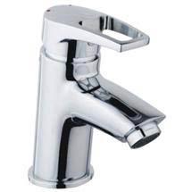 Bristan - Smile Contemporary Basin Mixer w/ Clicker Waste - Chrome - SM-BAS-C Medium Image