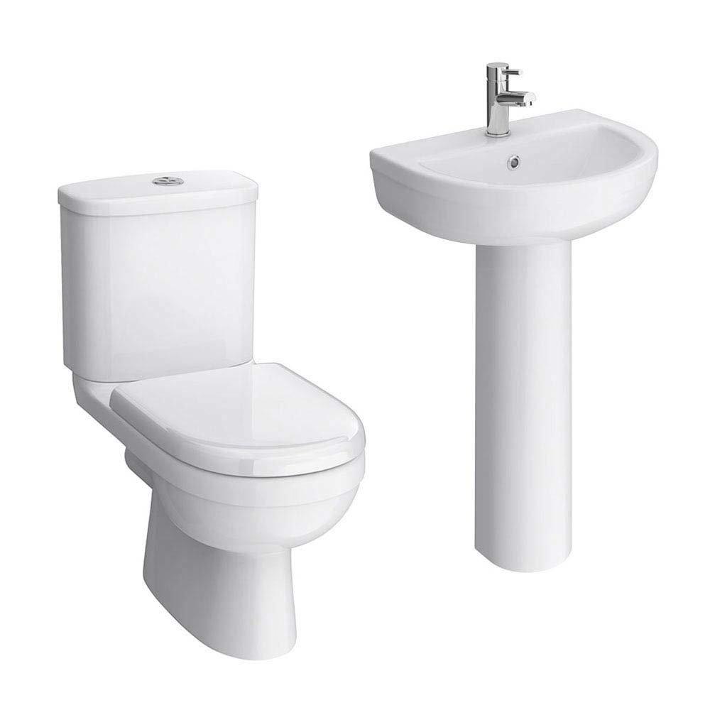 Sofia 4-Piece Modern Bathroom Suite  Profile Large Image