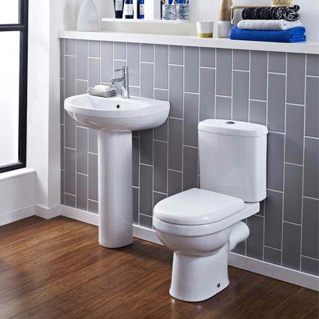 Sofia 4-Piece Modern Bathroom Suite