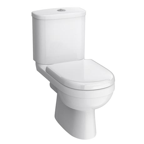 Sofia Modern Close Coupled Toilet with Soft-Close Seat