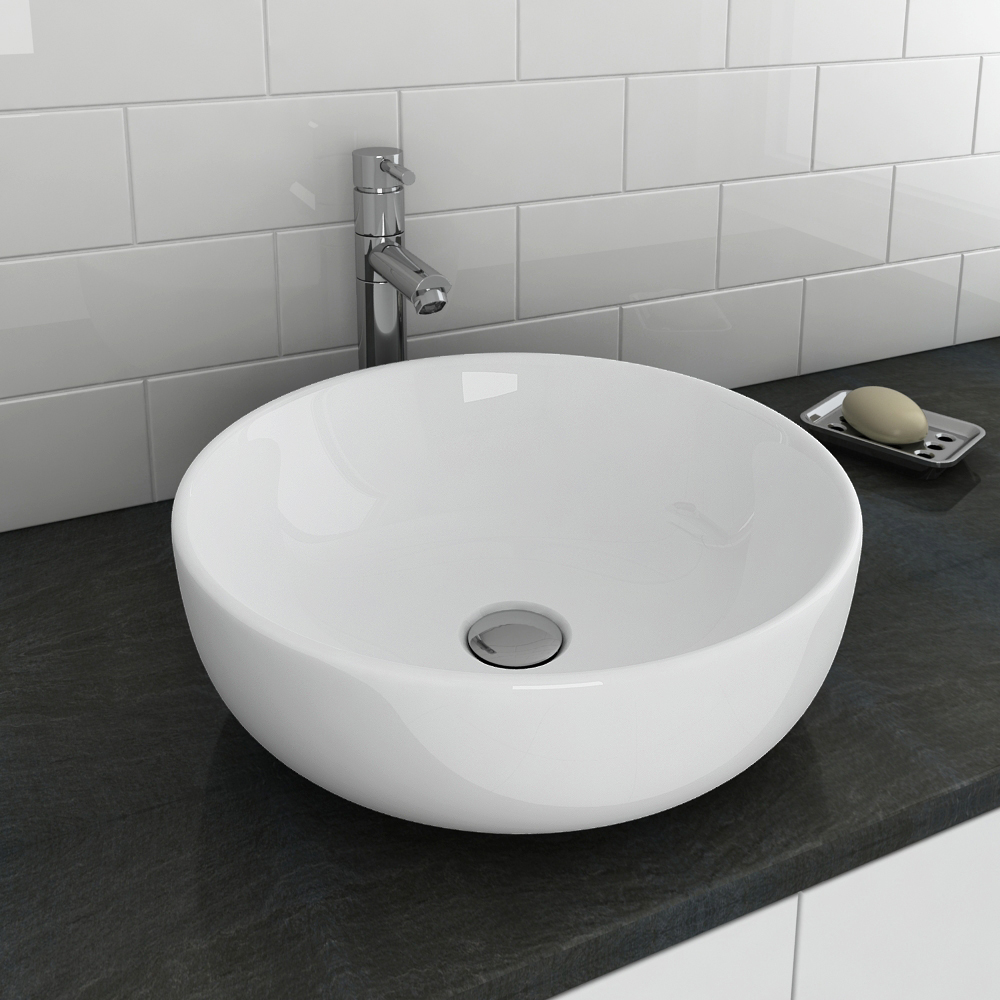 Sol Round Counter Top Basin