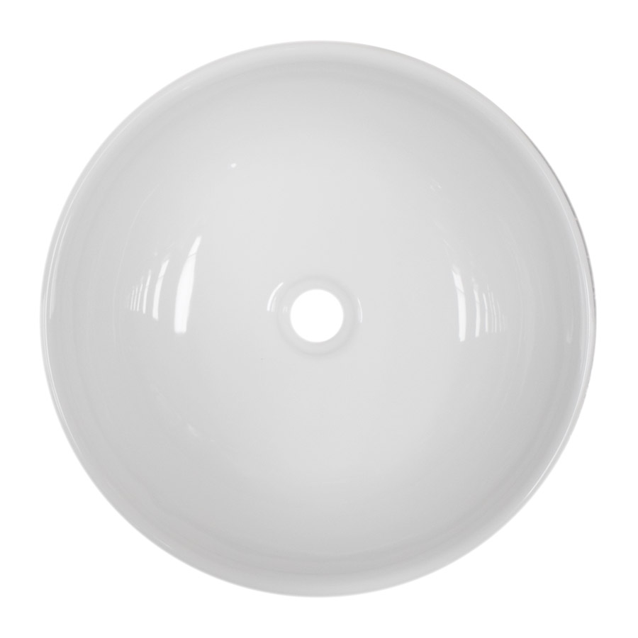 Sol Round Counter Top Basin 0TH - 400mm Diameter Feature Large Image