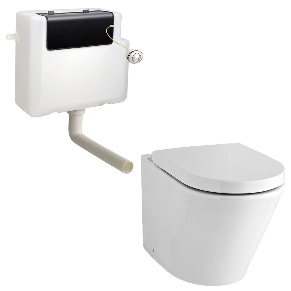 Solace Back To Wall Toilet W Soft Close Seat Victorian Plumbing