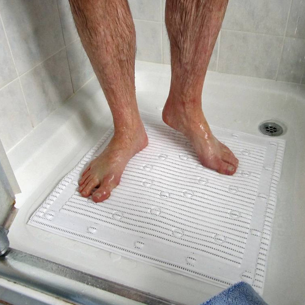 Square Anti-Slip Shower Mat profile large image view 2