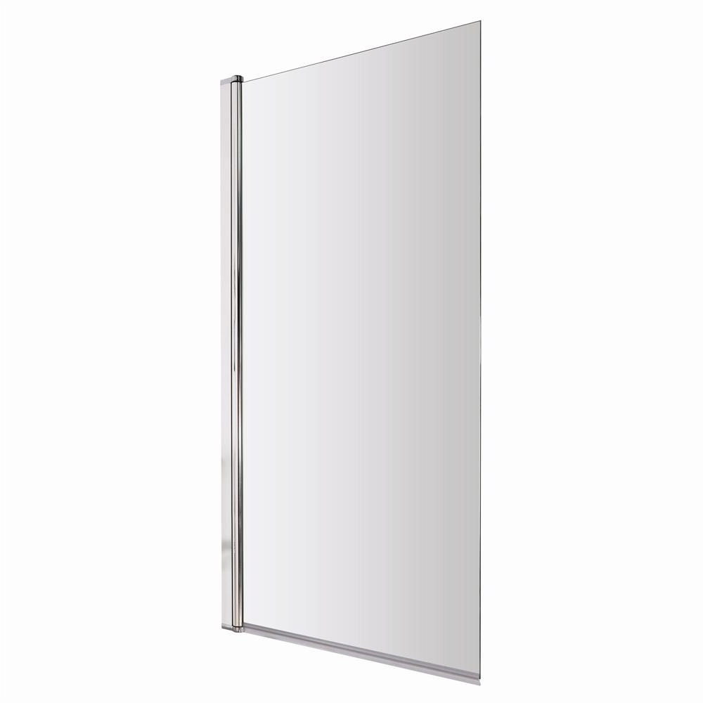 1400 Hinged Square Bath Screen - NSSQ profile large image view 2
