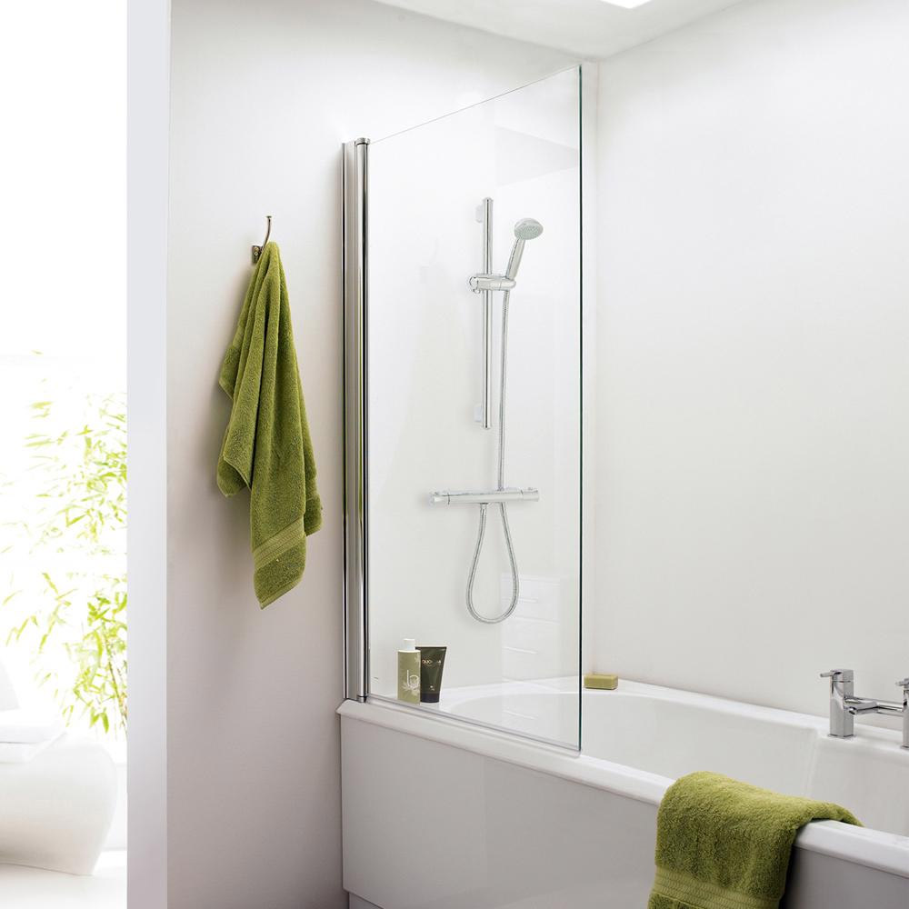 1400 Hinged Square Bath Screen - NSSQ Large Image